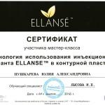 Сертификат по жидким нитям ELLANSE